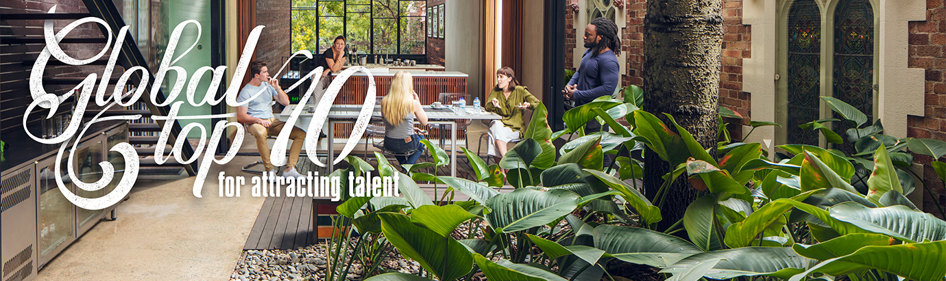 Global Top 10 for attracting talent