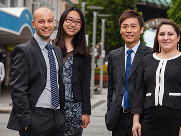 International Students working in Brisbane