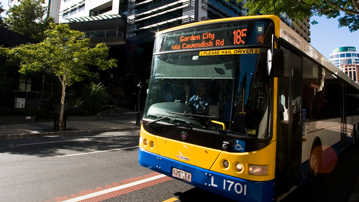 Public Bus in Brisbane for Student Transport